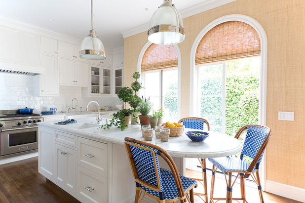 Transitional Kitchen by Westward Home