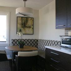 Midcentury Kitchen by Fiorella Design