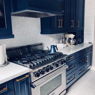 San Francisco Nautical Blue Kitchen