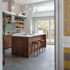Contemporary Kitchen by Hart Wright Architects, AIA