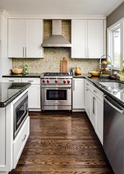 Transitional Kitchen By Robin Heard Design