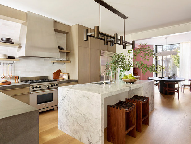 Contemporary Kitchen by Jamie Bush & Co.