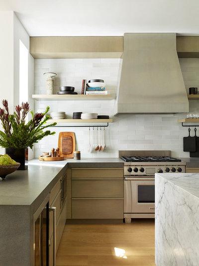 Contemporary Kitchen by Jamie Bush & Co.