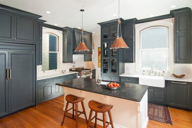 Victorian Kitchen by Amanda Armstrong Sava