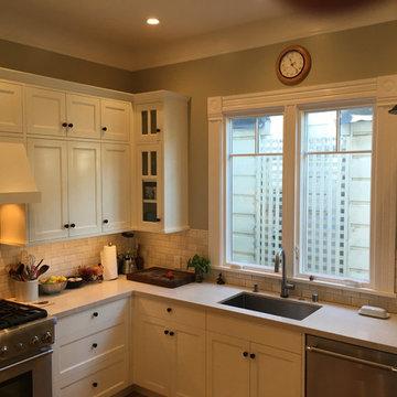 San Francisco Victorian Kitchen