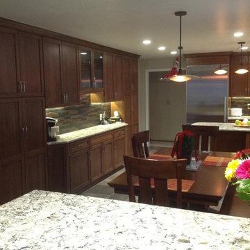 San Jose Dynasty Cherry Kitchen by Signature Kitchen & Bath Design