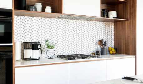 Love a White Backsplash but Not Subway Tile? Try One of These