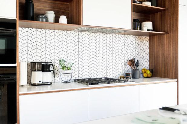 Midcentury Kitchen by Urbanism Designs