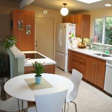 Midcentury Kitchen by Amanda Sava