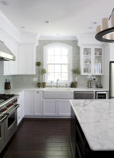 American Traditional Kitchen by Fiorella Design
