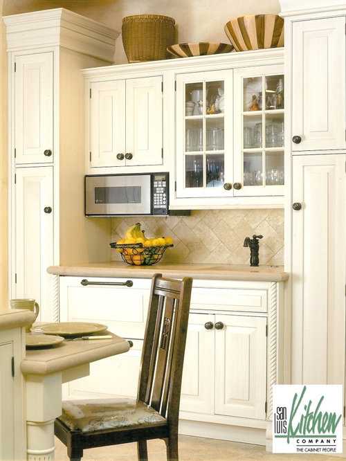 16 pantry Kitchen Design Photos with Distressed Cabinets and Limestone ...