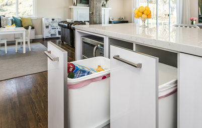 Fabulous Kitchen Stories and Guides How to Get Your Pullout Waste and Recycling Cabinets Just Right