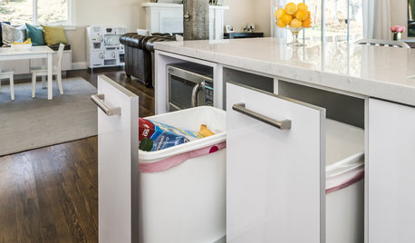 How to Get Your Pullout Waste and Recycling Cabinets Right