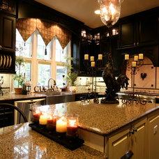 Mediterranean Kitchen by Amarant Design and Build Center