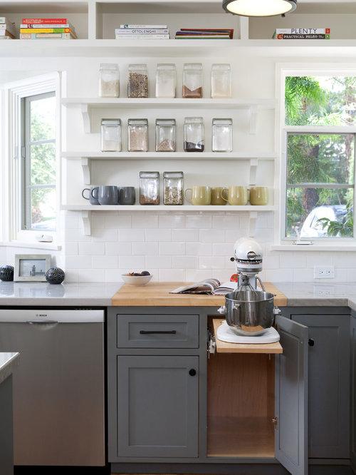 Kitchenaid Mixer Storage Houzz