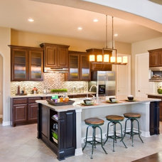 Contemporary Kitchen by Sitterle Homes
