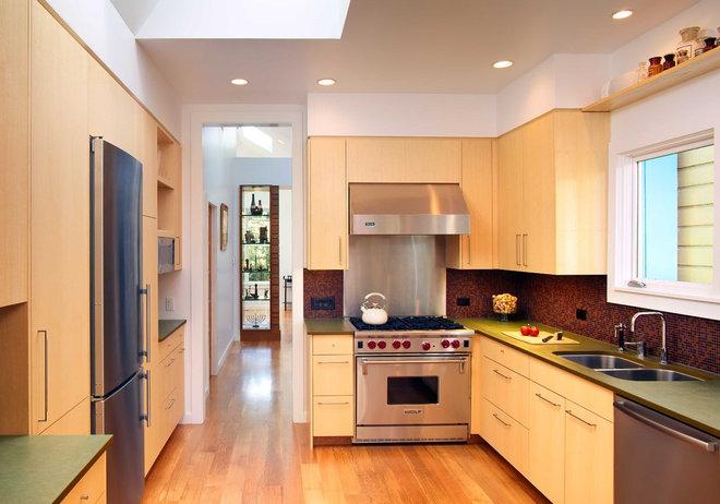 Contemporary Kitchen by Chr DAUER Architects