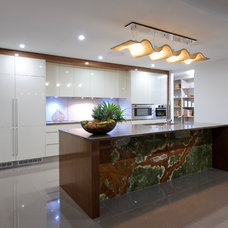 Tropical Kitchen by Germancraft Cabinets