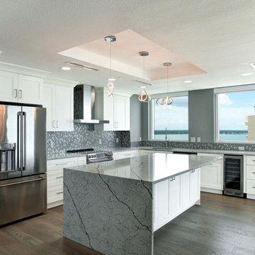 Sand Key Beach, FL Contemporary Remodel