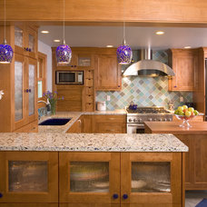 Traditional Kitchen by Riddle Construction and Design