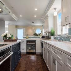 Beach Style Kitchen by Zieba Builders, Inc.