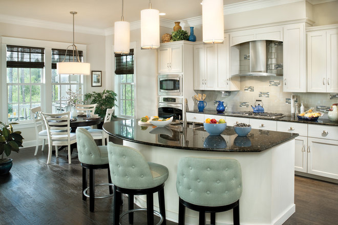 Tropical Kitchen by Arthur Rutenberg Homes