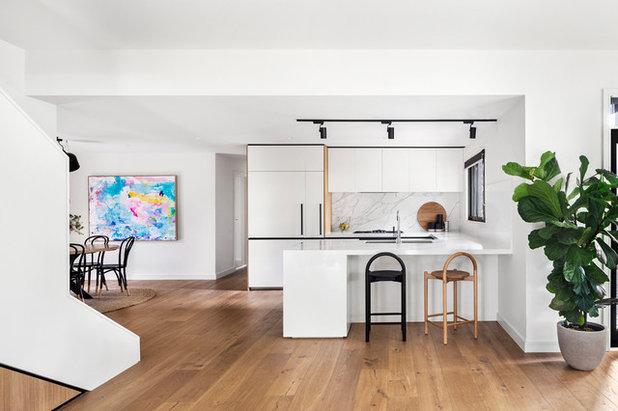 Contemporary Kitchen by Minett Studio Architecture and Design