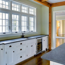 Traditional Kitchen by Yankee Barn Homes