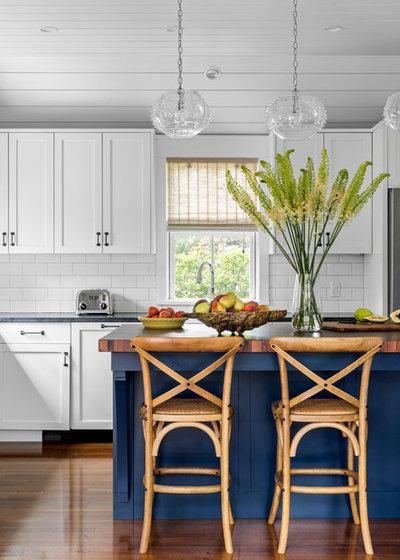 Coastal Kitchen by LDa Architecture & Interiors