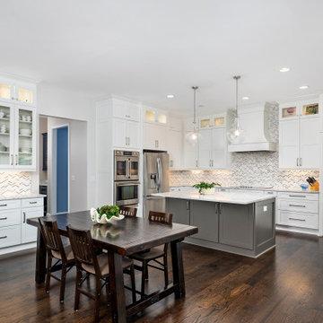 Sandy Springs Dreamy White Kitchen