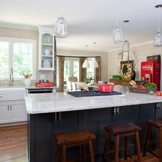 Farmhouse Kitchen by Cristi Holcombe Interiors, LLC
