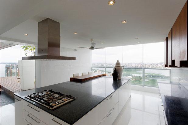 Contemporary Kitchen by Fulcrum Studio
