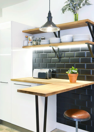 Scandinavian Kitchen by Egue y Seta
