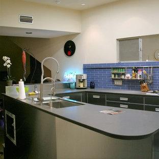 Santa Ana Lemon Heights Contemporary Kitchen