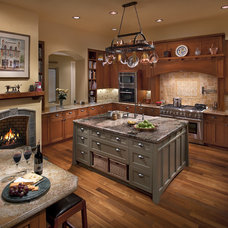 Transitional Kitchen by Lisa Gildar Interior Spaces