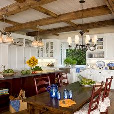 Beach Style Kitchen by Kathryne Designs, Inc