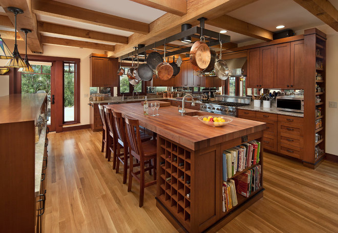 Craftsman Kitchen by Thompson Naylor Architects Inc