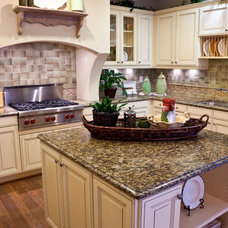 Traditional Kitchen by M S International, Inc.