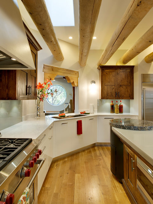 Albuquerque Kitchen Design Ideas Renovations Photos With Light Hardwood Floors