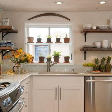 Santa Fe Cottage Kitchen design by Jennifer Ashton, Allied ASID