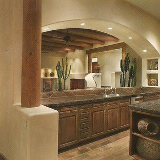 Admirable Santa Fe Style Houzz Home Interior And Landscaping Ologienasavecom