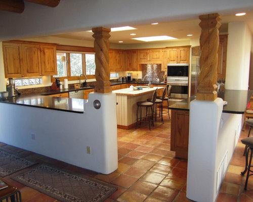 Southwestern albuquerque kitchen design ideas remodel for Rustic home albuquerque