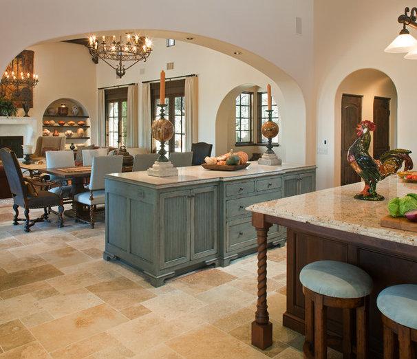 Mediterranean Kitchen by Margaret Dean at Design Studio West