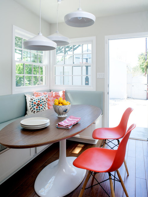 Oval Table With Bench Home Design Ideas Pictures Remodel