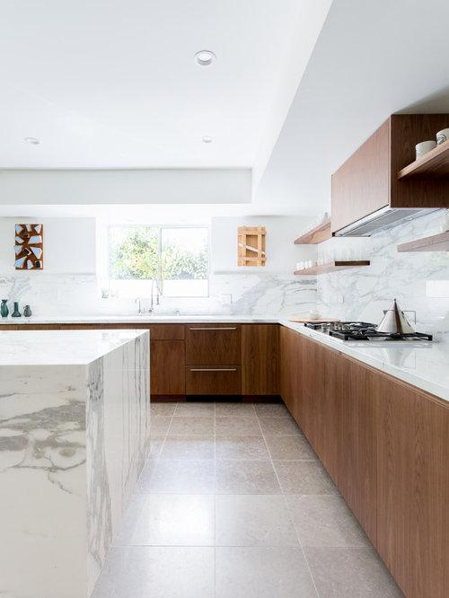 Charmant schwarz weiß küchen houzz bilder küchen ideen celluwood com