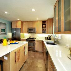 Modern Kitchen by LA Dwelling