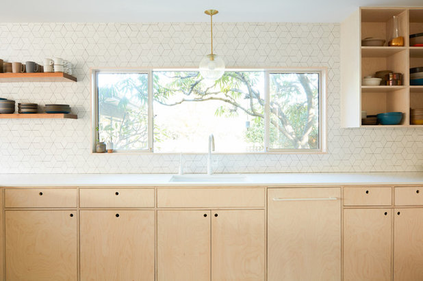 Midcentury Kitchen by Madeline Tolle