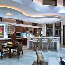 Contemporary Kitchen by James McCalligan Architect