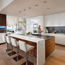 Contemporary Kitchen by Lori Smyth Design