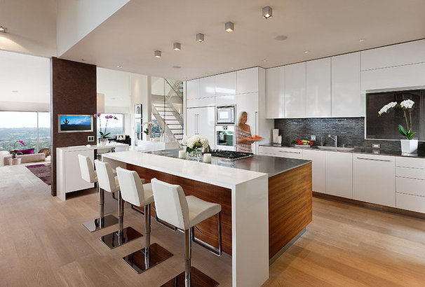 Contemporary Kitchen by Lori Smyth Design